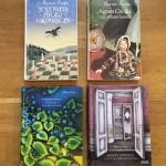 """""""Tordyveln flyger i skymningen"""" och """"Agnes Cecilia"""" av Maria Gripe i utgåvor 1981, 1988 samt nyare från 2014. Omslag (2014): Lisa Bodén / Agent Molly & Co"""
